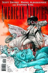 Cover for American Vampire (DC, 2010 series) #4 [Variant Cover (1 in 25)]