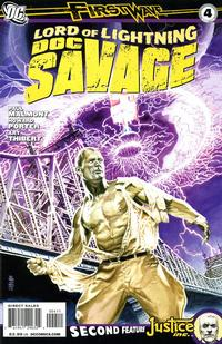 Cover Thumbnail for Doc Savage (DC, 2010 series) #4