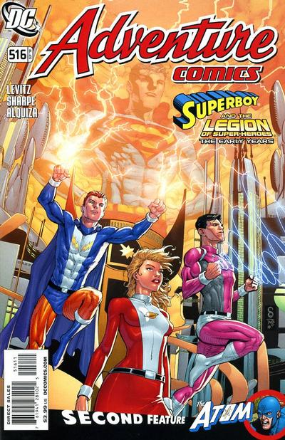 Cover for Adventure Comics (DC, 2009 series) #516
