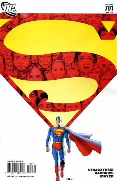 Cover for Superman (2006 series) #701 [Direct]