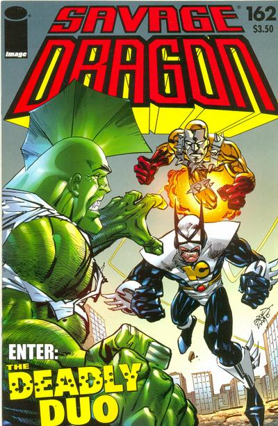 Cover for Savage Dragon (1993 series) #162