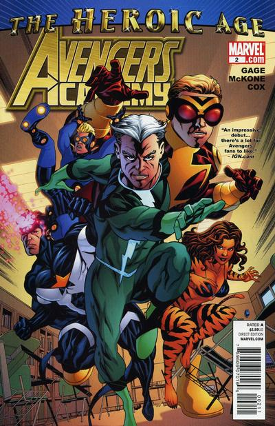 Cover for Avengers Academy (2010 series) #2