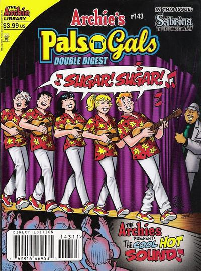Cover for Archie's Pals 'n' Gals Double Digest Magazine (Archie, 1992 series) #143