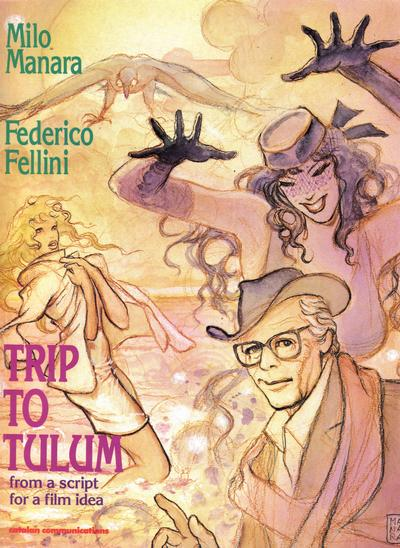 Cover for Trip to Tulum (Catalan Communications, 1990 series)