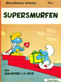 Cover Thumbnail for Smurfernas ventyr (Carlsen/if [SE], 1975 series) #4 [3:e u, 1978] - Supersmurfen