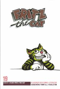 Cover Thumbnail for Klassiker der Comic-Literatur (Frankfurter Allgemeine, 2005 series) #19 - Fritz the Cat