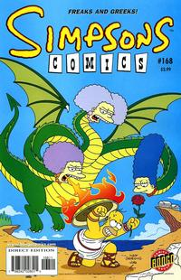 Cover Thumbnail for Simpsons Comics (Bongo, 1993 series) #168