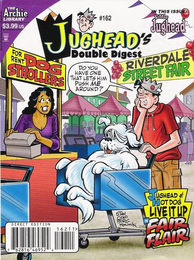 Cover for Jughead's Double Digest (Archie, 1989 series) #162