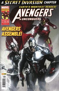 Cover Thumbnail for Avengers Unconquered (Panini UK, 2009 series) #21