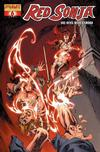 Cover Thumbnail for Red Sonja (2005 series) #6 [Fiery Red Foil High End Edition]