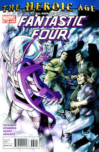 Cover Thumbnail for Fantastic Four (Marvel, 1998 series) #581