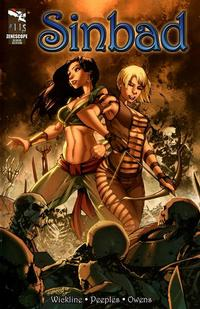 Cover Thumbnail for Sinbad (Zenescope Entertainment, 2010 series) #11 [Cover A]