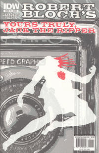 Cover for Yours Truly, Jack the Ripper (2010 series) #1
