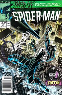 Cover Thumbnail for Web of Spider-Man (Marvel, 1985 series) #31 [Newsstand]