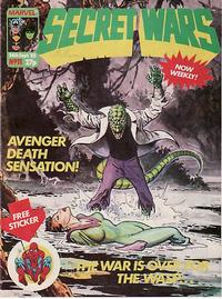 Cover Thumbnail for Marvel Super Heroes Secret Wars (Marvel UK, 1985 series) #11