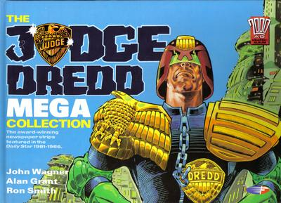 Cover for The Judge Dredd Mega Collection (Fleetway Publications, 1990 series)