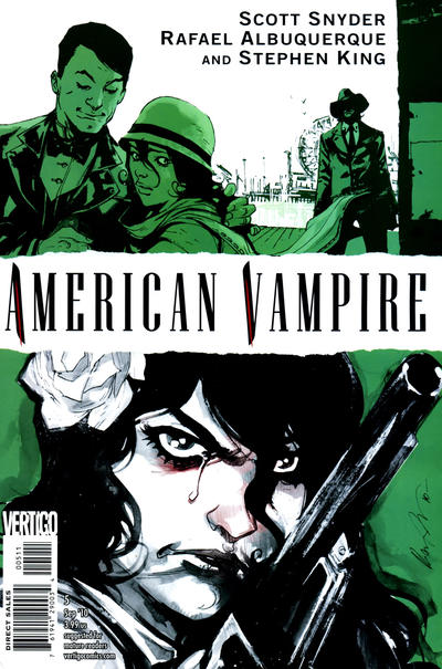 Cover for American Vampire (DC, 2010 series) #5 [Direct]