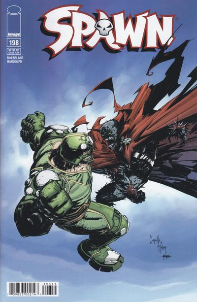 Cover for Spawn (1992 series) #198
