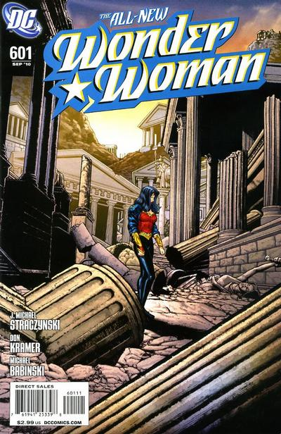 Cover for Wonder Woman (DC, 2006 series) #601