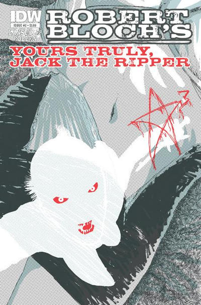 Cover for Yours Truly, Jack the Ripper (2010 series) #2