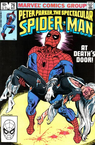 Cover for The Spectacular Spider-Man (Marvel, 1976 series) #76 [Direct Edition]