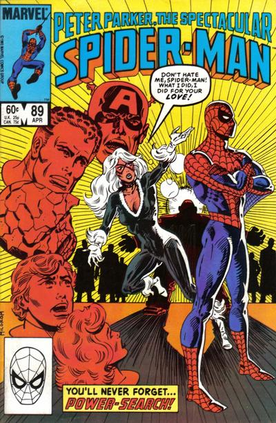 Cover for The Spectacular Spider-Man (1976 series) #89 [direct]