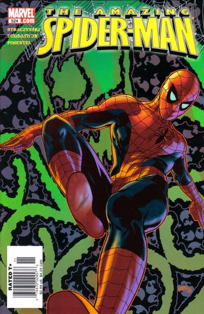 Cover for The Amazing Spider-Man (1999 series) #524 [Direct Edition]