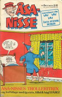 Cover Thumbnail for sa-Nisse (Semic, 1975 series) #6/1977