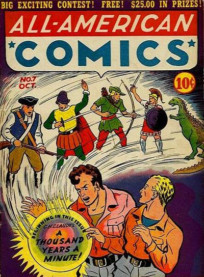 Cover for All-American Comics (DC, 1939 series) #7