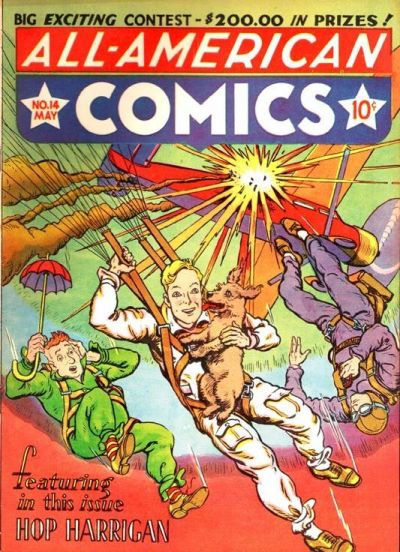 Cover for All-American Comics (DC, 1939 series) #14