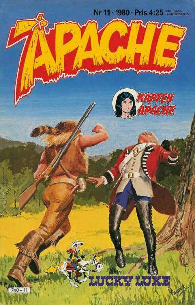 Cover for Apache (Semic, 1980 series) #11/1980