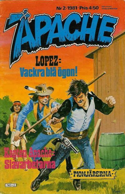 Cover for Apache (1980 series) #2/1981