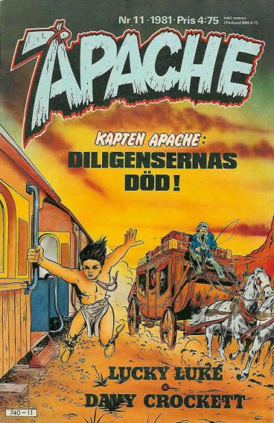 Cover for Apache (Semic, 1980 series) #11/1981