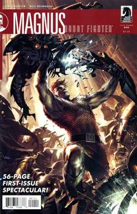 Cover Thumbnail for Magnus, Robot Fighter (Dark Horse, 2010 series) #1 [Cover A]