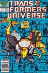 Cover Thumbnail for The Transformers Universe (Marvel, 1986 series) #3 [Newsstand Edition]