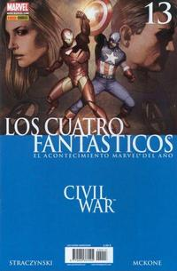 Cover Thumbnail for Los 4 Fantásticos (Panini España, 2006 series) #13