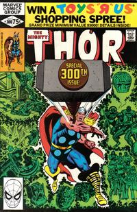 Cover Thumbnail for Thor (Marvel, 1966 series) #300 [Direct]