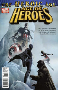 Cover Thumbnail for Age of Heroes (Marvel, 2010 series) #4