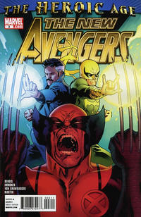 Cover Thumbnail for New Avengers (Marvel, 2010 series) #3