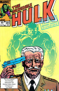 Cover Thumbnail for The Incredible Hulk (Marvel, 1968 series) #291 [Direct Edition]