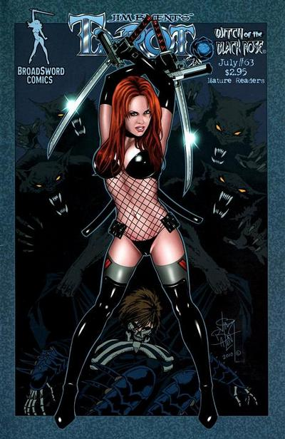 Cover for Tarot: Witch of the Black Rose (Broadsword, 2000 series) #63 [Cover C]