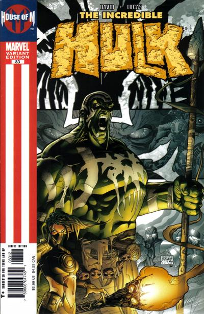 Cover for Incredible Hulk (Marvel, 2000 series) #83 [2nd printing]