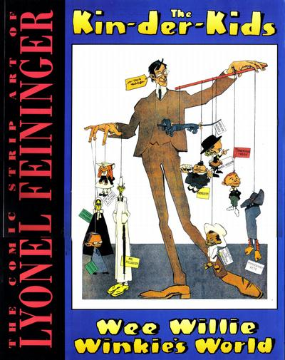 Cover for The Comic Strip Art of Lyonel Feininger (1994 series) #[nn]