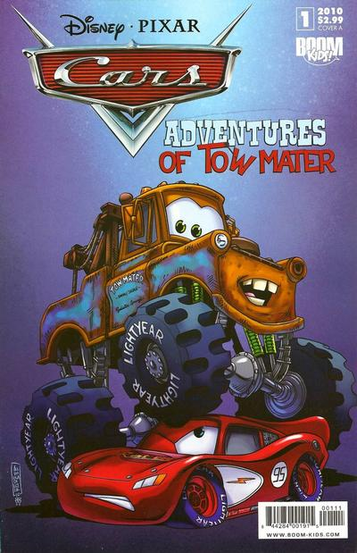Cover for Cars: Adventures of Tow Mater (Boom! Studios, 2010 series) #1 [Fan Expo]