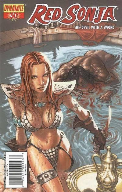 Cover for Red Sonja (Dynamite Entertainment, 2005 series) #30 [Alex Ross Cover]