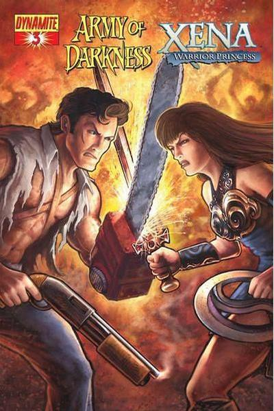 Cover for Army of Darkness / Xena (2008 series) #3 [Udon Studios Cover]