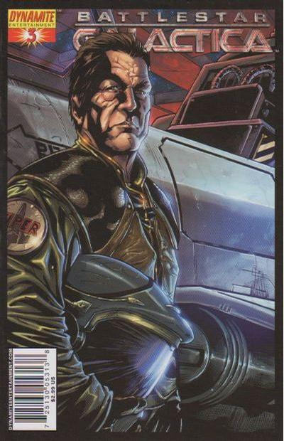 Cover for Battlestar Galactica (Dynamite Entertainment, 2006 series) #3 [Cover A - Nigel Raynor]