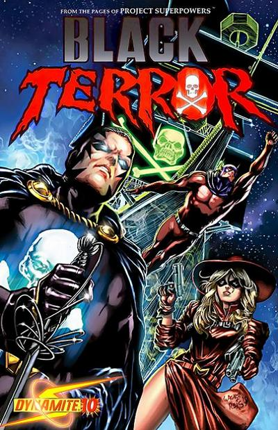 Cover for Black Terror (Dynamite Entertainment, 2008 series) #10 [Wagner Reis Cover]