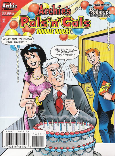 Cover for Archie's Pals 'n' Gals Double Digest Magazine (Archie, 1992 series) #144