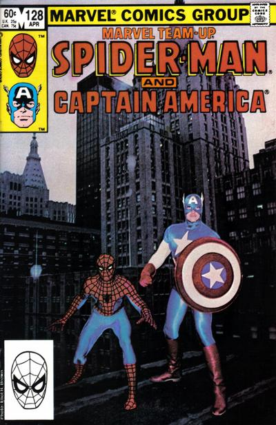 Cover for Marvel Team-Up (Marvel, 1972 series) #128 [Newsstand Edition]